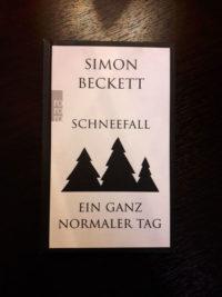 Weihnachtskrimi Kurzgeschichten Simon Beckett