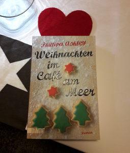 Cover Weihnachten im Cafe am Meer roman für die vorweihnachtszeit buchtipp um in weihnachtsstimmung zu kommen gute liebesromane