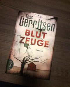 Cover Blutzeuge thriller zur serie rizzoli & isles buchtipps thriller serie buchreihe